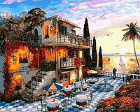 Картина по номерам Курортный городок (VP1150) 40 х 50 см DIY Babylon