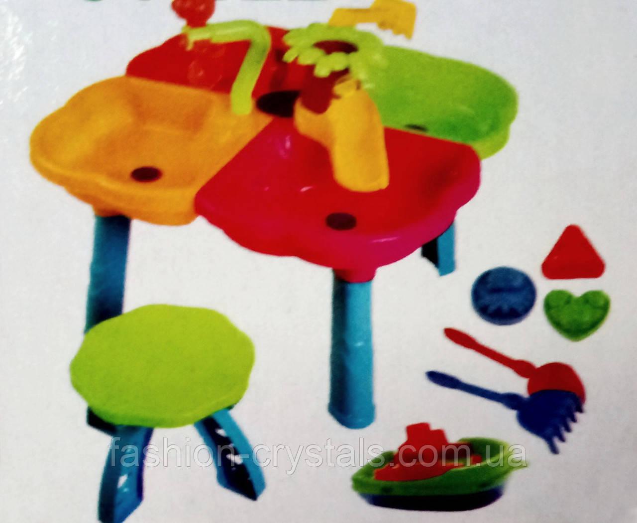 Столик-Песочница для игр с песком и водой 01-122 - фото 2