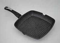 Сковорода-гриль Benson BN-311 (28*28*4 см) квадратная мрамор