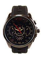 Мужские кварцевые наручные часы TAG Heuer SLS Mercedes-Benz, Black, фото 1