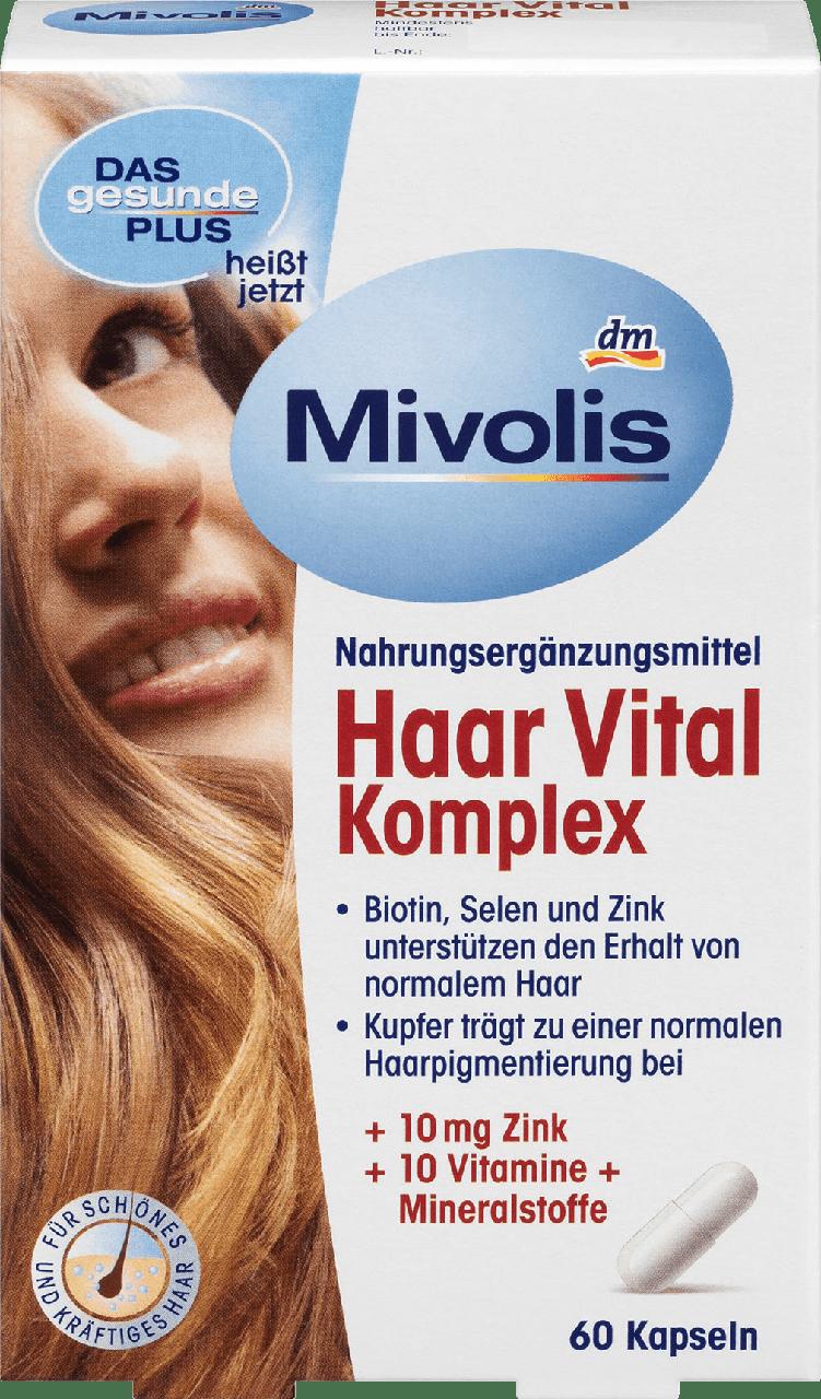 Биологически активная добавка Mivolis Haar Vital Komplex, 60 шт.