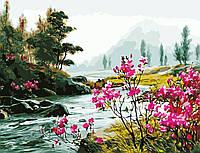 """Картина по номерам """"Красота природы"""" 50*65см"""