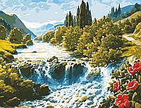 "Картина по номерам ""Волшебный водопад"" 50*65см"