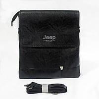 Мужская плечевая сумка черная № 5512.