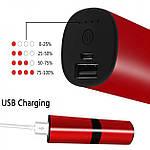 Беспроводные наушники блютуз гарнитура Bluetooth 4.2 Wi-pods S2 Оригинал водонепроницаемые Красный, фото 5
