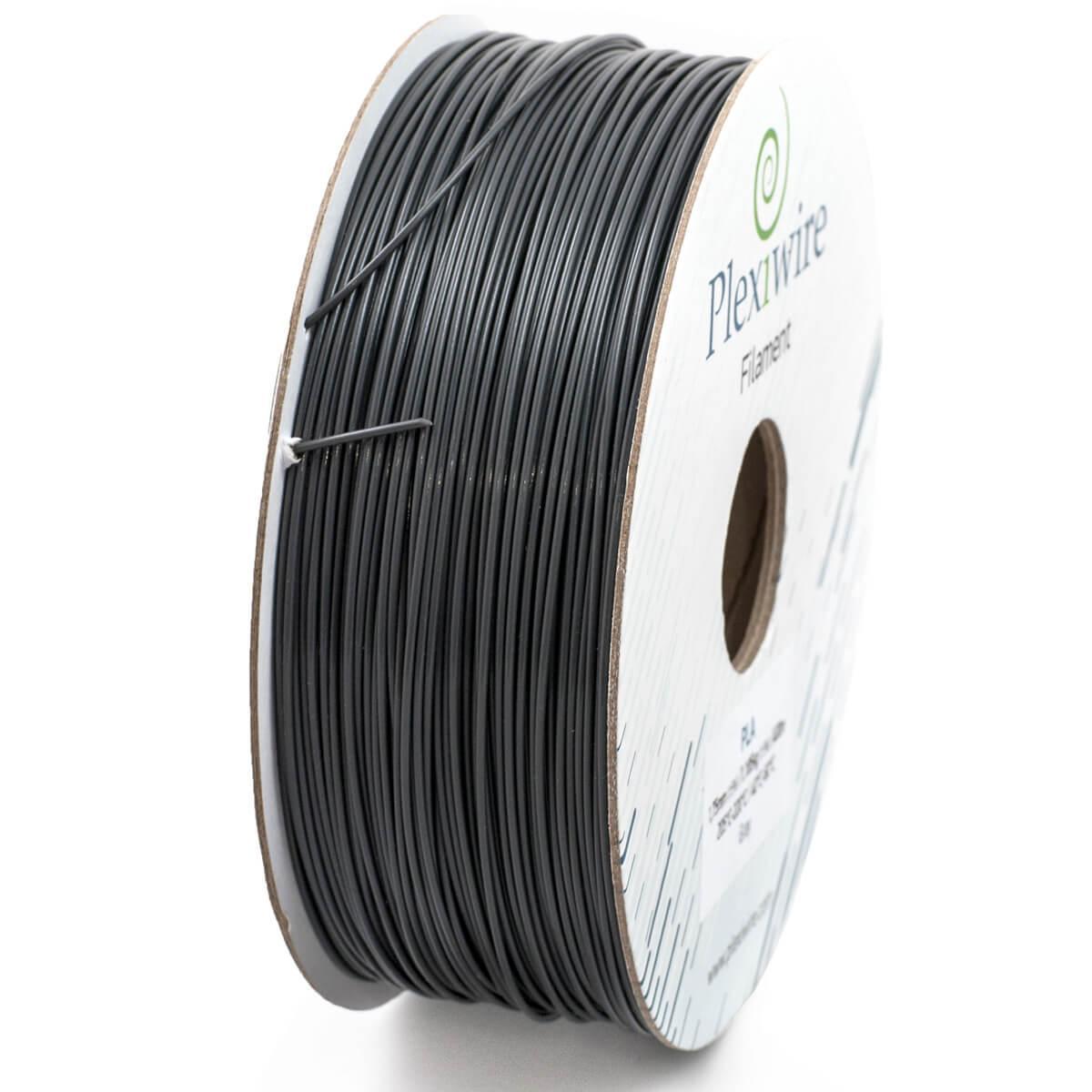 Пластик в котушці PETG 0,9/300 м, Plexiwire Сірий