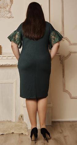"""Платье """"Влада""""  в большом размере размер 52,54,56, фото 2"""