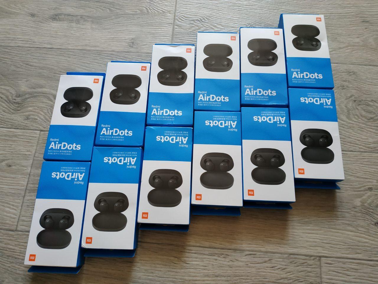 Беспроводные наушники Xiaomi Redmi AirDots Black TWS оригинал