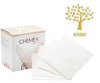 Фильтры для Кемекса Chemex 6/8/10 cup (Белые 100 шт.), фото 1