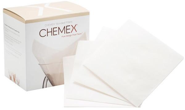 Фильтры для Кемекса Chemex 6/8/10 cup (Белые 100 шт.)