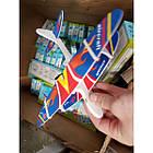 Игрушка метательный самолет-планер Airkraft с электромотором и пропеллером LSJ006A, фото 6