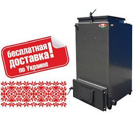 Твердотопливный котел длительного горения Холмова Zubr 15 кВт