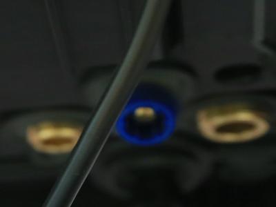 Подключение шлангов газового котла Ariston CLAS ONE 24