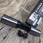 Наушники Wi-pods S2 TWS ОРИГИНАЛ беспроводные Bluetooth с кейсом Power Bank 1200mah. Серебристо-черные, фото 2