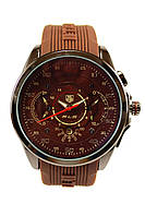 Мужские кварцевые наручные часы TAG Heuer SLS Mercedes-Benz, Brown, фото 1