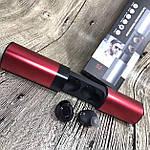 Wi-pods S2 Беспроводные наушники блютуз 5.0 гарнитура Оригинал водонепроницаемые Красный металлик., фото 3