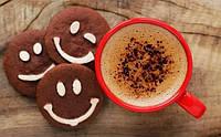 Картина раскраска по номерам Какао и веселое печенье 40 х 50 см, Без Коробки, фото 1