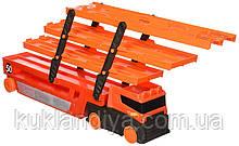 Автовоз хот вилс оранжевый Hot Wheels Mega Hauler Truck-Orange
