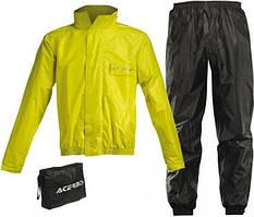 Дождевой комплект Acerbis Logo черный/желтый, XL