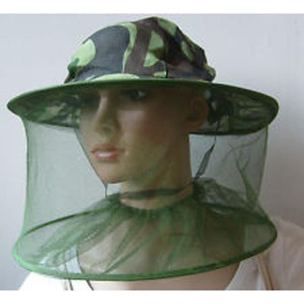 Капелюх для рибалок від комарів, для бджолярів від бджіл