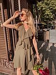 Женское платье с рюшами (в расцветках) , фото 2