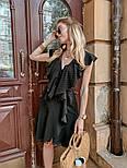 Женское платье с рюшами (в расцветках) , фото 3