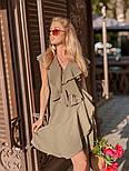 Женское платье с рюшами (в расцветках) , фото 4