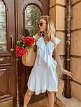 Женское платье с рюшами (в расцветках) , фото 7