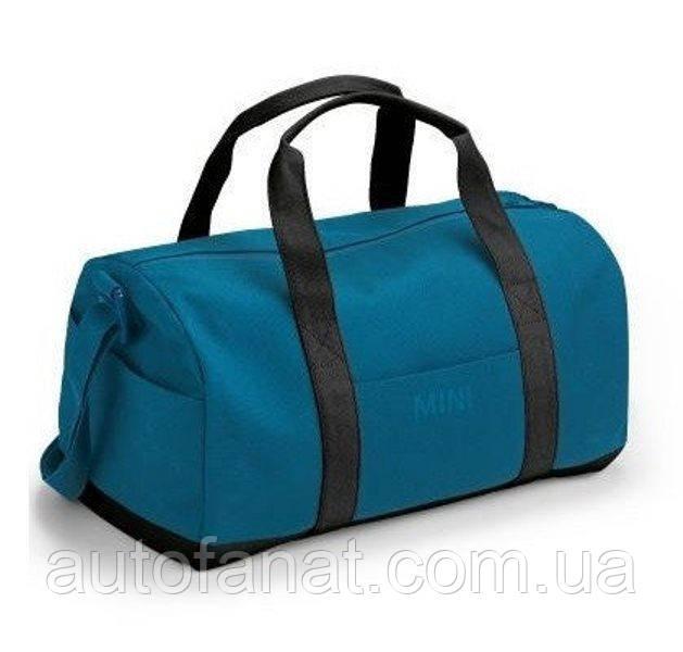 Оригінальна спортивна сумка MINI Colour Block Duffle Bag, Island/Black (80222460864)