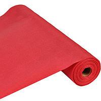 Простынь-покрытие 80 см х 100 м , 25 плотность, красная