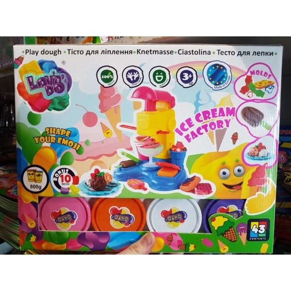 Набор Для Лепки Lovin Do Производство Мороженого OKTO 11016