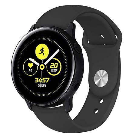 Ремешок BeWatch для Samsung Galaxy watch Active Черный (1010301), фото 2