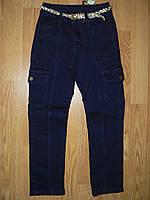 Брюки джинсовые на девочку оптом, Glo-story, 116-146 рр, фото 1