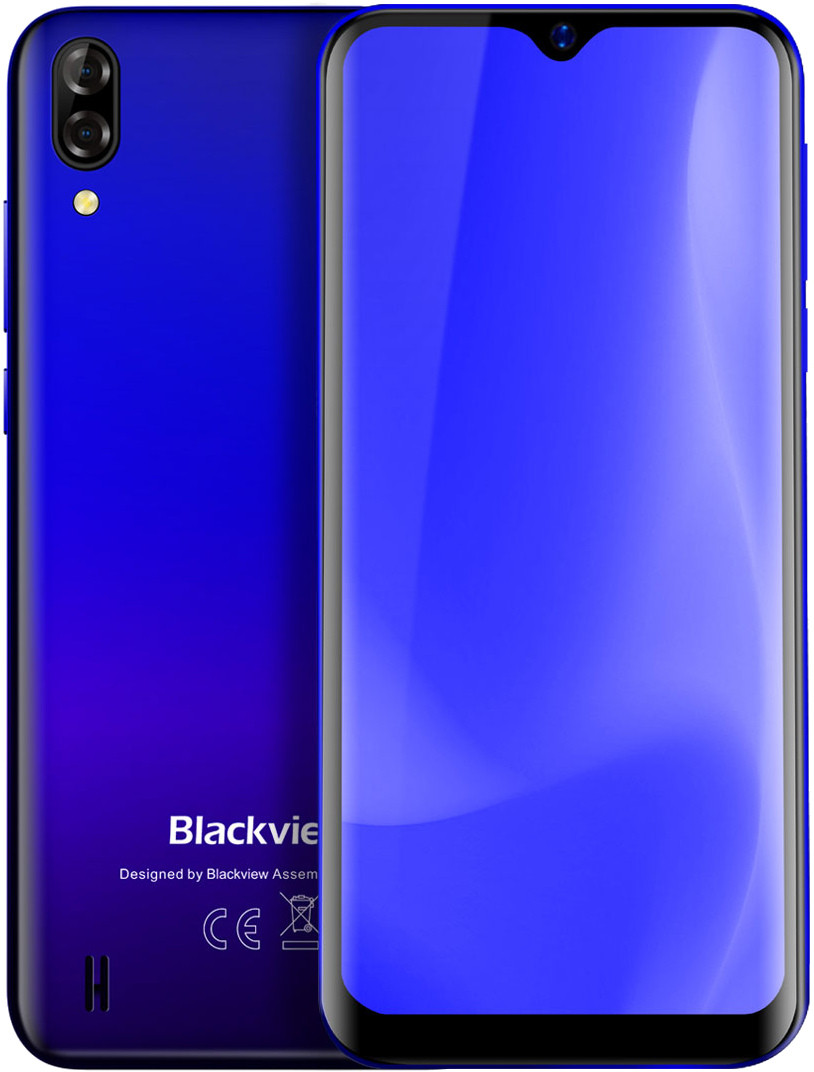 Blackview A60 с чехлом и пленкой .