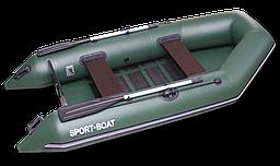 Надувная моторная лодка со сланевым дном Discovery DM290LS (весло алюминиевые,слань-5 секций)