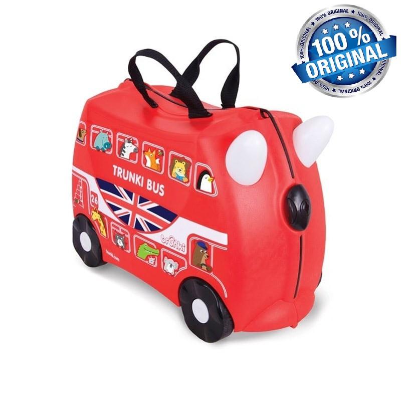 Чемоданчик Trunki Boris Bus на 4 колесах (18 л. + наклейки в подарок)