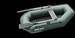 Надувная гребная лодка Cayman C210LS алюминиевые вёсла