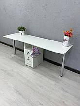 Маникюрный столик для двух мастеров