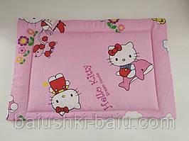 """Подушка в детскую кроватку для новорожденного """"нулевка"""""""