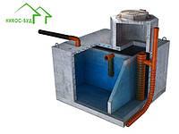 Подземный резервуар 6000 л. трехкамерный, из гидробетона