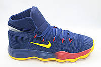 Баскетбольные кроссовки Nike Hyperdunk (синий/желтый)