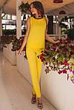 Стильный Летний брючный костюм  42-60р, фото 5