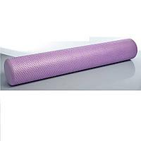 Ролик (валик) для пилатеса и йоги (Длина 90 см, Диаметр 14 см)