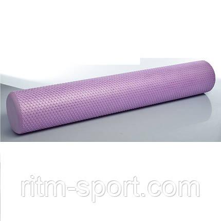 Ролик (валик) для пилатеса и йоги (Длина 90 см, Диаметр 14 см), фото 2
