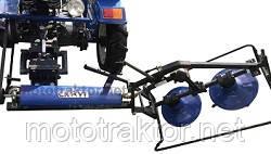 Обновленная косилка роторная GS-01 для мототрактора