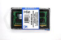 Оперативная память Kingston SODIMM DDR3-1600 4096MB PC3-12800 (KVR16S11/4G) DDR3 4Gb 1600Mhz