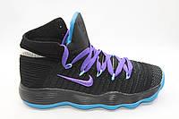 Баскетбольные кроссовки Nike Hyperdunk (черный/фиолетовый)