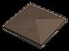 Крышка для заборов - конусная, 480х480х90, венге, Авеню
