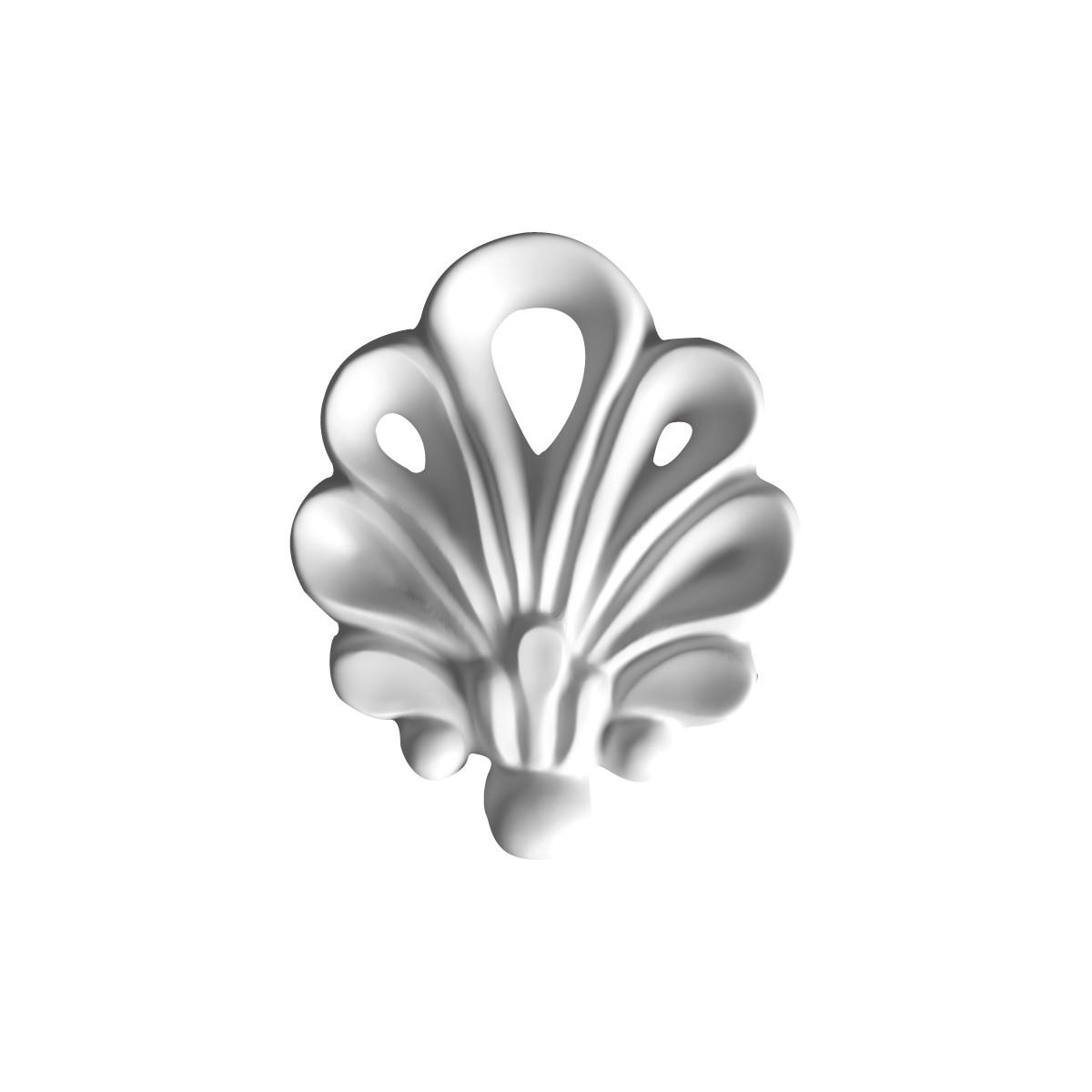 Мелкая лепнина из гипса, гипсовая мелочь м-13 h70мм