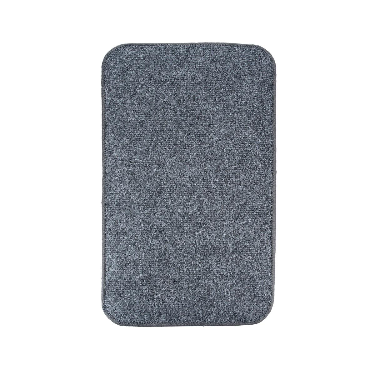 Електричний килимок з підігрівом Теплик з термоізоляцією 100 х 150 см Темно-сірий